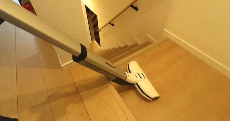 階段をFC3Dで水拭き