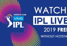 Watch IPL 2019 Live FREE on Phone & Laptop Without Hotstar