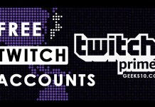 Free Premium Twitch Prime Accounts 2019 (Working)