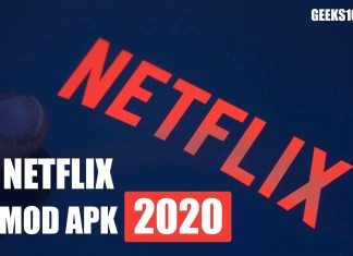 Netflix MOD APK v8.4 Downlaod March 2020