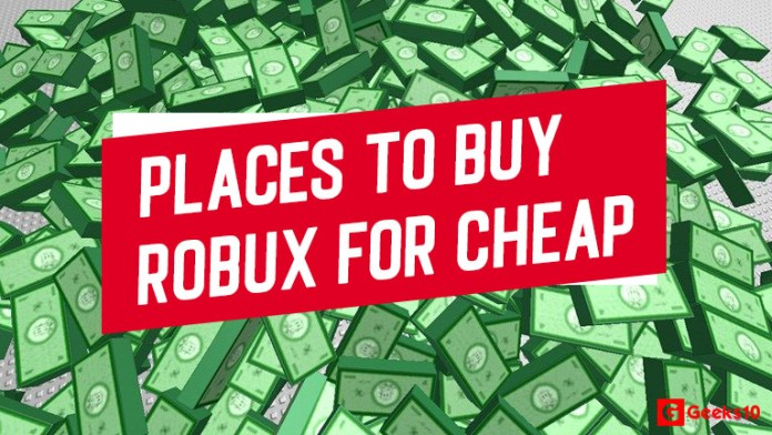(10+) Best Places to Buy Robux for Cheap Legally in 2020