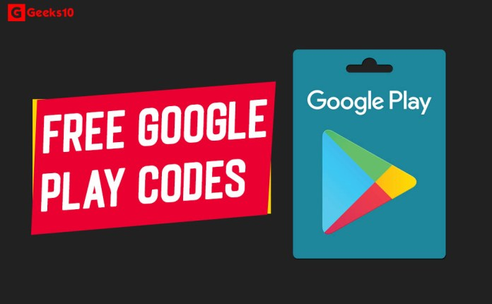 How To Get Free Google Play Codes, Redeem Codes & Gifts (2020)