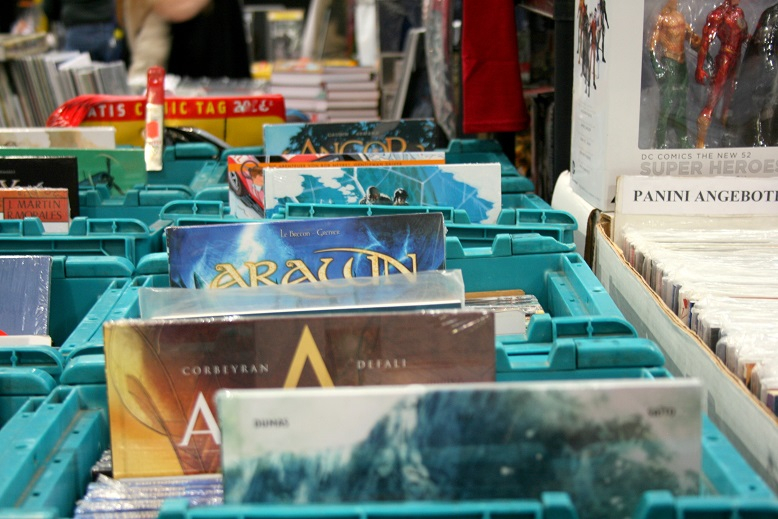 Comics und Graphic Novel auf der Frankfurter Buchmesse. Foto: Lilli/geek's Antiques