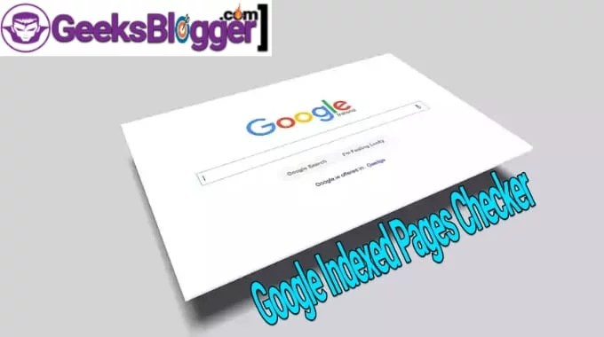 Google index page checker tool