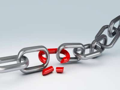 Broken links