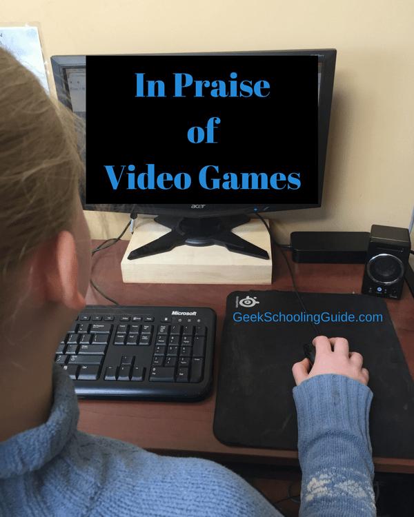 in praise of video games