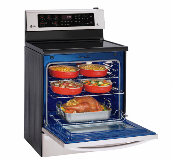 LG smart oven kitchen gadgets