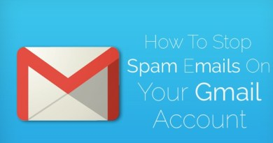 Stop Spam emails on Gmail