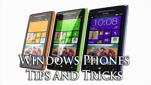 Windows phone tips