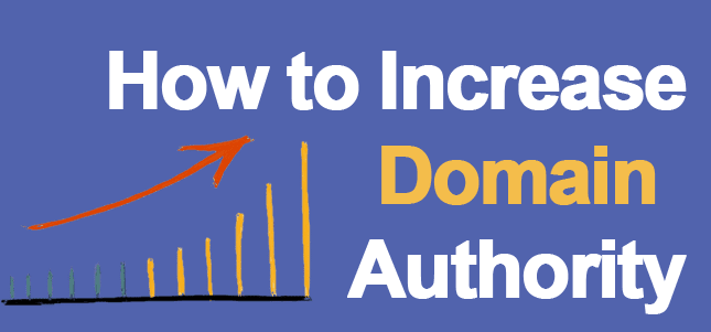 Increase Domain Authority rank