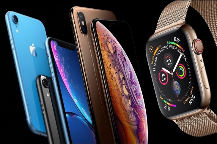 apple-iphone-xr-iphone-xs-xs-max-watch series 4
