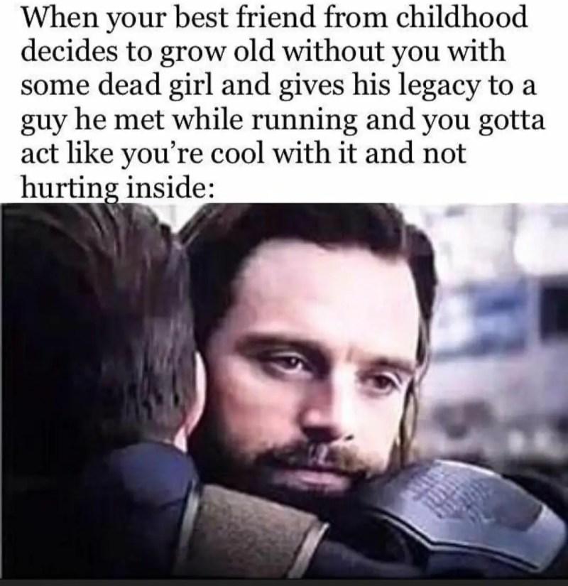 Bucky Barnes meme