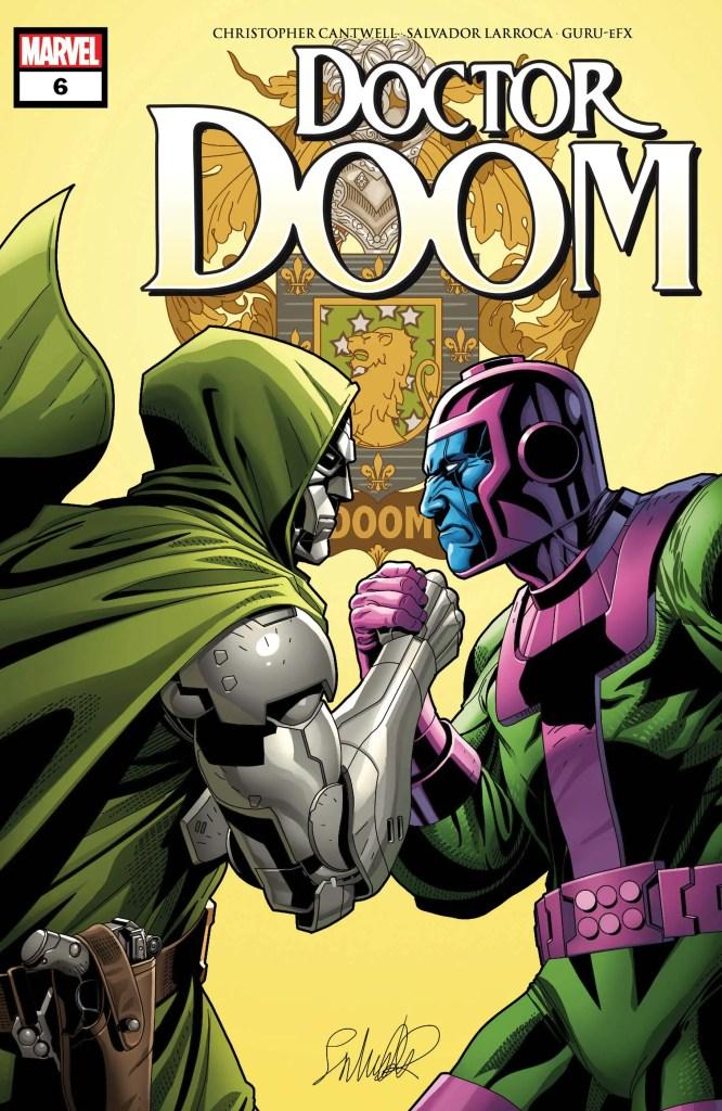 Kang the conqueror doctor doom