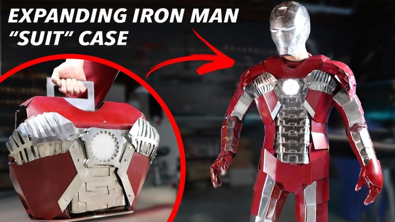 Real Iron Man suit briefcase