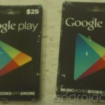 Images Of The Upcoming Google Play Store Gift Cards