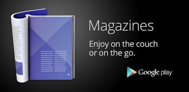 Google Play Magazines, UK