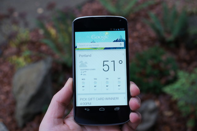 Google Now on Android 4.1