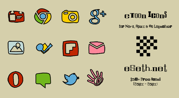 etoon android icon pack