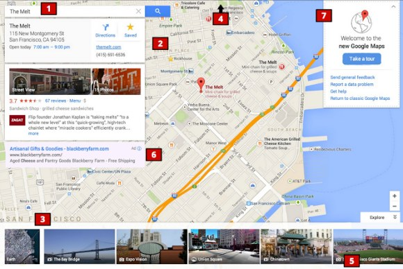 new google maps