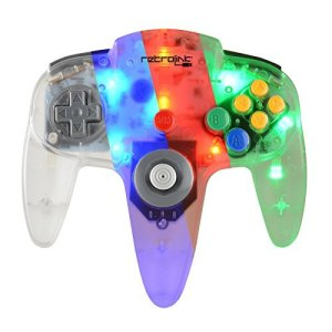 Retro-Link-Wired-N64-Style-USB-Controller-with-BlueRedGreen-LED-On-Off-Switch-and-Dimmer-0