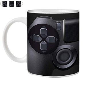 STUFF4-TeaCoffee-MugCup-350mlPlaystation-PS4Games-ConsoleWhite-CeramicST10-0