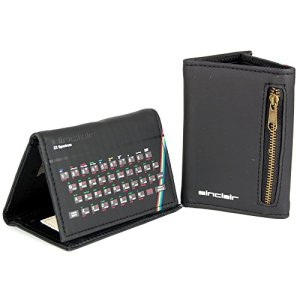 Sinclair-ZX-Spectrum-Tri-Fold-Wallet-Retro-style-gamer-gift-with-free-key-ring-0