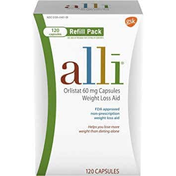 alli weight loss pill review