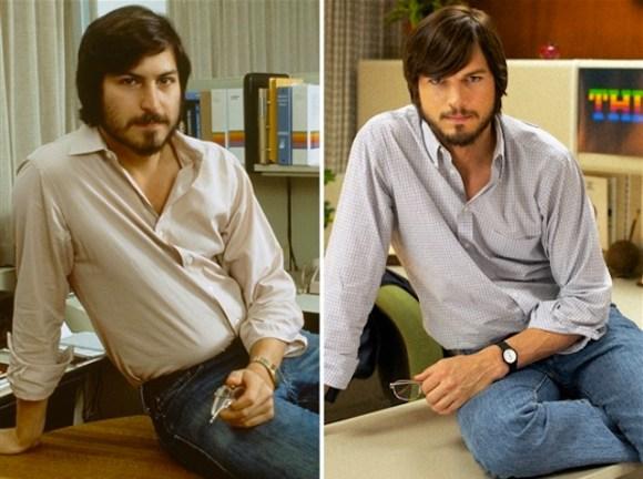 Steve Jobs vs Ashton Kutcher