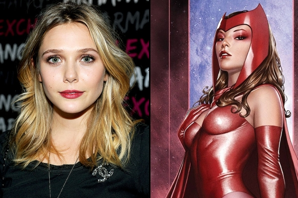 """'Avengers: Age of Ultron' Actress Elizabeth Olsen Excited to Play """"Crazy"""" Scarlet Witch"""