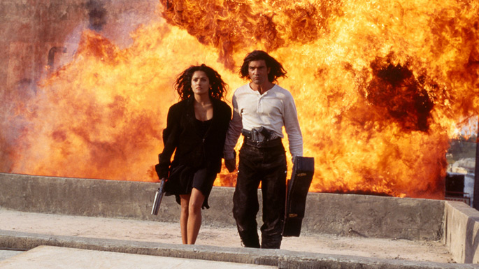 Top 10 Cool guys walking away from explosions - GeekShizzle