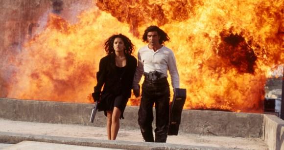 Desperado - Cool guys walking away from explosions