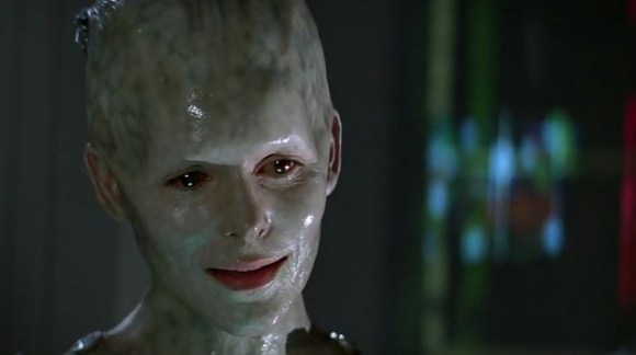 Alice Krige as the Borg Queen