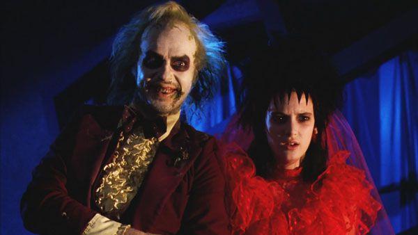 Michael Keaton and Winona-ryder