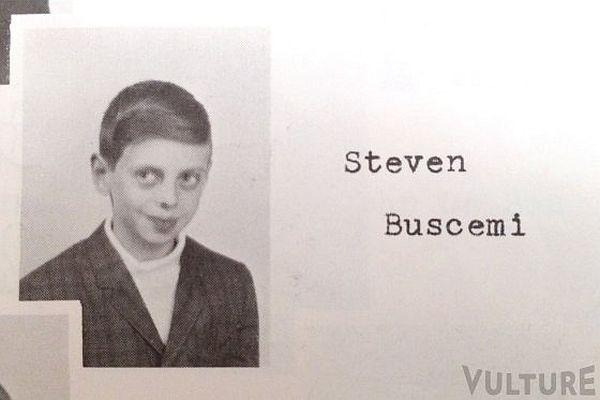 Steve Buscemi's Elementary School Yearbook Photo