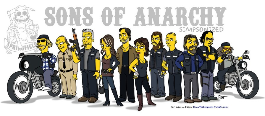 Simpsonized - sons of Anarchy