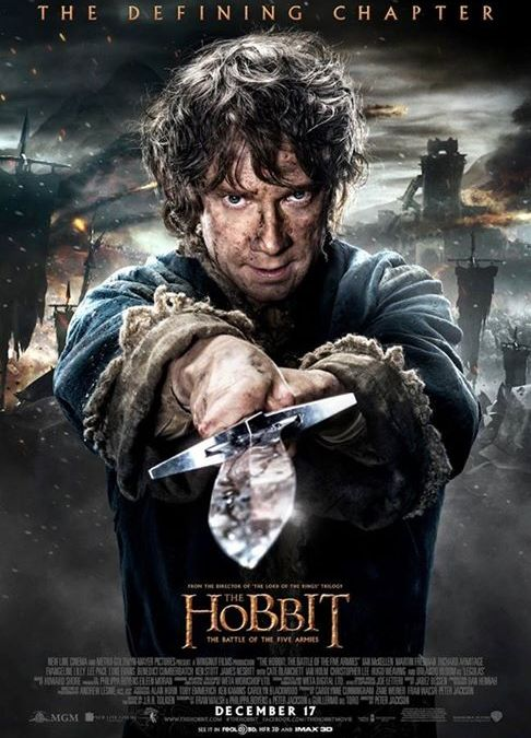 New Poster For The Hobbit : The Battle Of The Five Armies