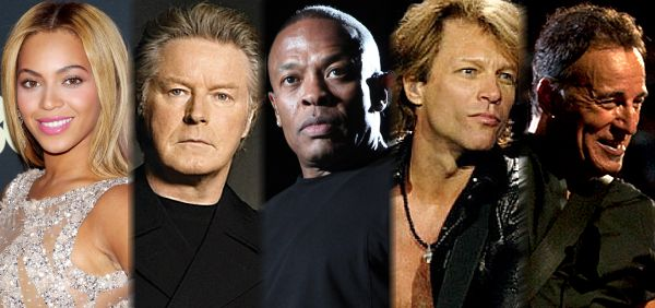 Top 10 Highest Paid Musicians in 2014