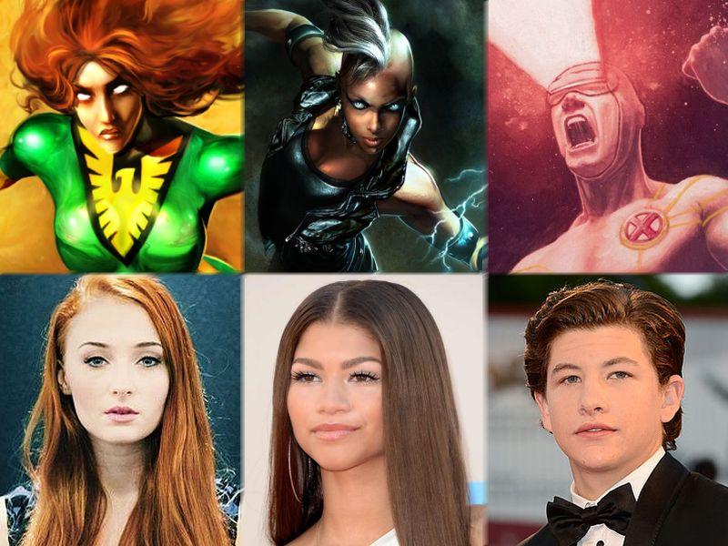 'X-Men: Apocalypse' Found Its Jean Grey, Storm and Cyclops