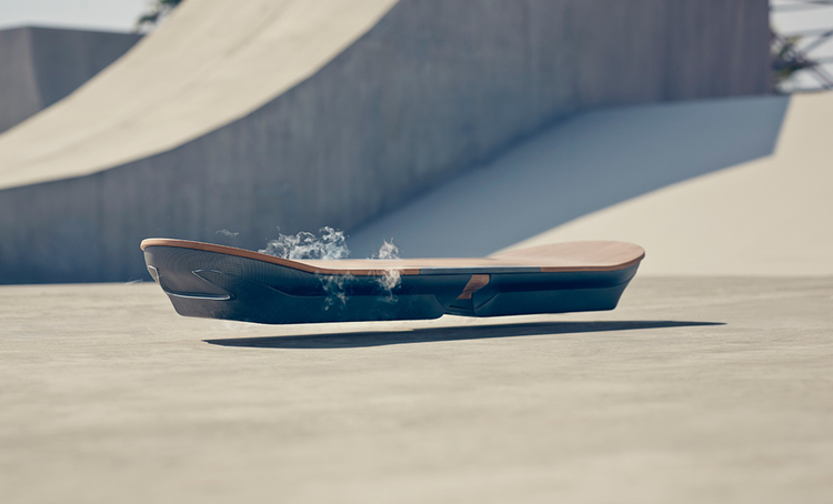 Lexus is working on a Real Working Hoverboard