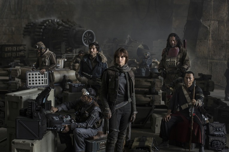 Just released Star Wars Rogue One Trailer