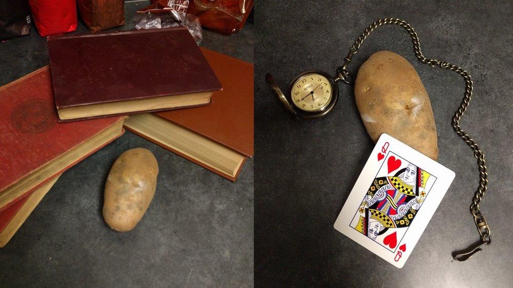Disney Princesses Ridiculously Reimagined as Potatoes