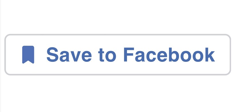 save button from Facebook