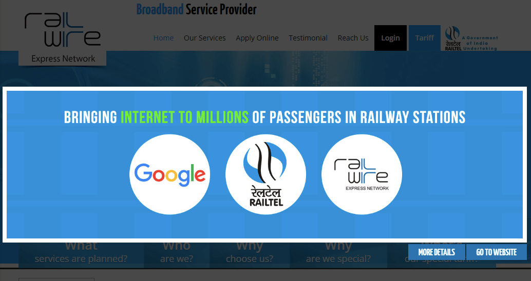 Free-Wi-fi on Chennai Central