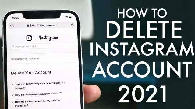 How To Delete Instagram Account on iPhone  Latest Tech updates