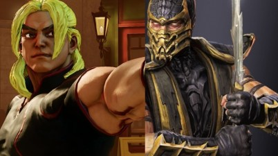 Ken and Scorpion courtesy of Capcom and Warner Bros.