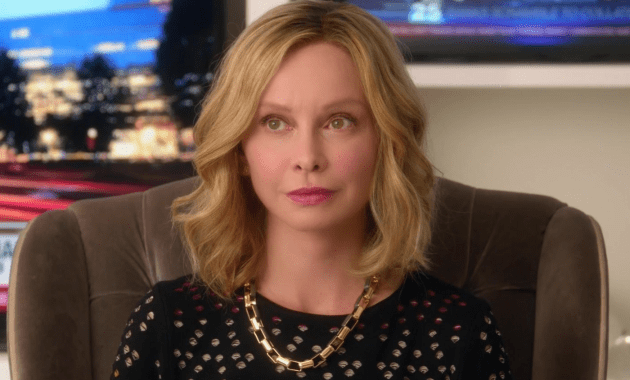 Calista Flockhart's Cat Grant Courtesy of The CW