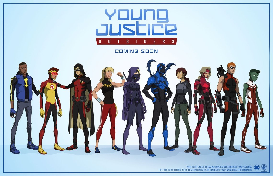 Young Justice cast