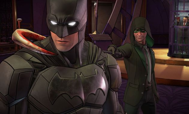Riddler and Batman in The Enemy Within
