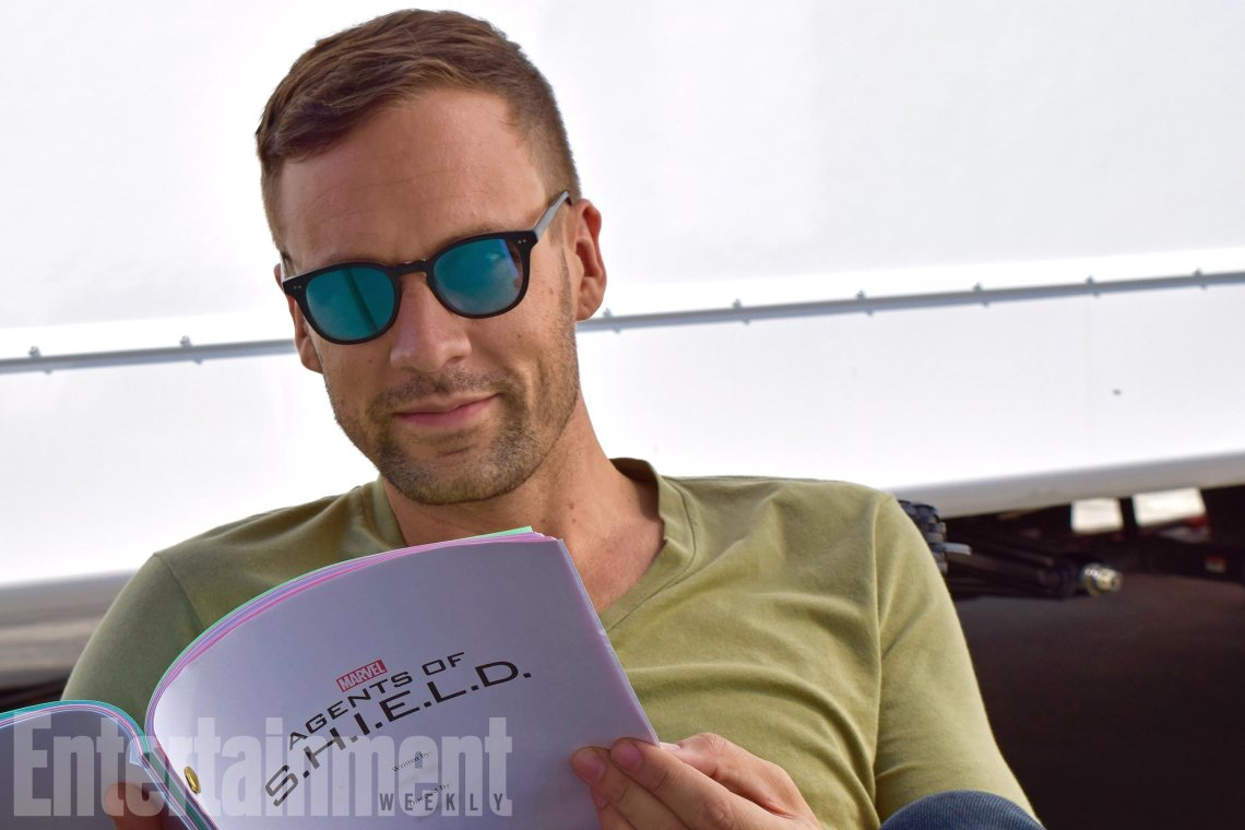 Agents of SHIELD BTS -- Pictured: Nick Blood CR: ABC