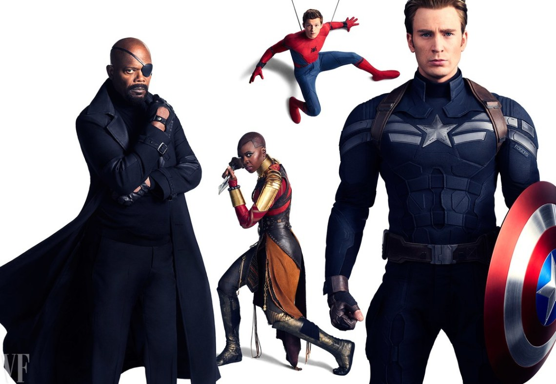 Nick Fury-SpiderMan-Cap